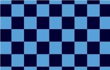 TCF 5X3 Checker Flag (Navy Sky)