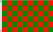 TCF 5X3 Checker Flag (Red Green)