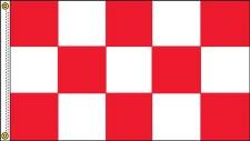 TCF 5X3 Checker Flag (Red White)