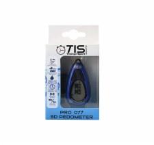 TIS Pro 077 3D Pedometer Blue