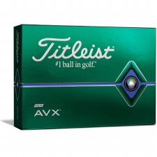Titleist AVX (White) 12 Pack