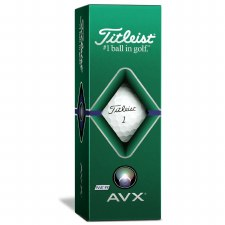 Titleist AVX (White) 3 Pack