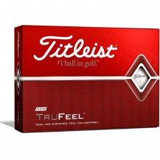 Titleist TruFeel (White) 3 Pack