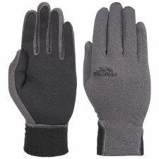 Trespass Atherton Glove Touch Screen Compatible (Grey Black) Small - Medium