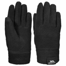 Trespass Lala II Kids Fleece Gloves (Black) 2-4
