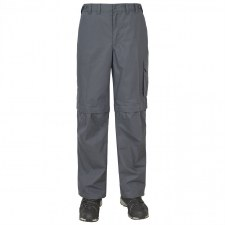Trespass Mallik Convertible Cargo Pants (Graphite) S