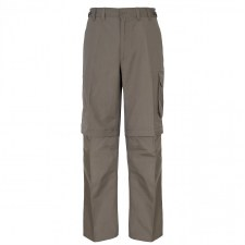 Trespass Mallik Convertible Cargo Pants (Brown) L
