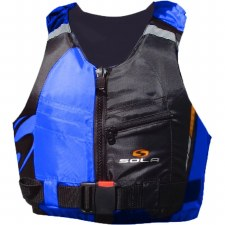 Sola Frenzy Front Zip Buoyancy Aid (Blue Black) 30-50Kg