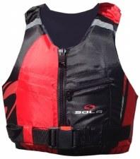 Sola Frenzy Front Zip Buoyancy Aid (Red Black) 30-50Kg