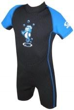 TWF Seahorse Summer Shortie (Black Blue) K03
