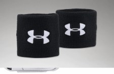 UA Performance Wristbands (Black)