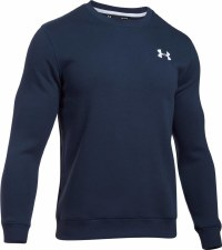 Under Armour Rival Solid Fitted Crew (Navy) Large