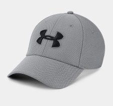 Under Armour Mens Blitzing 3.0 Cap (Grey Black) Medium Large