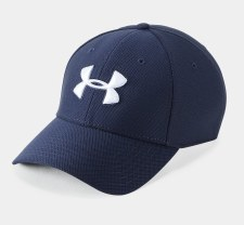 Under Armour Mens Blitzing 3.0 Cap (Navy White) Large/XL