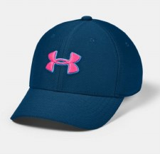 Under Armour Boys Blitzing 3.0 Cap (Navy Blue Pink) Small-Medium