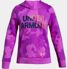 Under Armour Girls Rival Hoody (Purple) XSB
