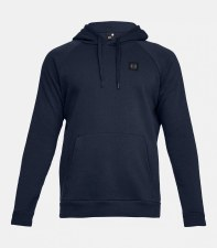 Under Armour Mens Rival Fleece Hoodie (Navy) Small