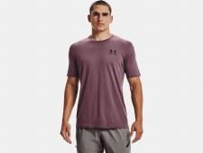 Under Armour Sportsstyle Short Sleeve Tee (Purple)