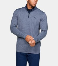 Under Armour Playoff 2.0 1/2 Zip (Navy Marl) Small