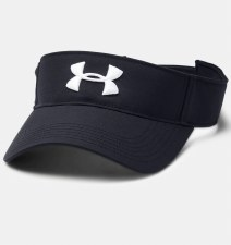 Under Armour Core Golf Visor (Black) Mens