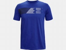 Under Armour Fast Left Chest Tee (Royal Blue) Small