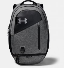 Under Armour Hustle 4.0 Backpack (Black Grey)