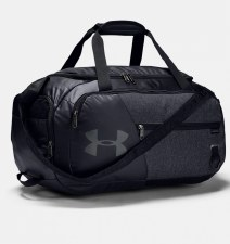Under Armour Undeniable 4.0 Duffle (Grey Black) Small
