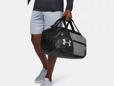 Under Armour Undeniable 4.0 Duffle (Marl Grey Black) Small