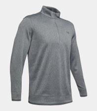 Under Armour Sweater Fleece 1/2 Zip (Grey) Medium
