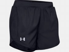 Under Armour Womens Fly By 2.0 Shorts (Black) XS