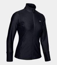 Under Armour Womens Sport Full Zip Jacket (Black) Medium