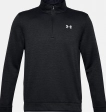 Under Armour Mens Storm SF 1/2 Zip Mid Layer (Graphite Black) Small