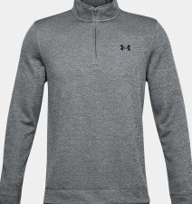 Under Armour Mens Storm SF 1/2 Zip Mid Layer (Grey) Small