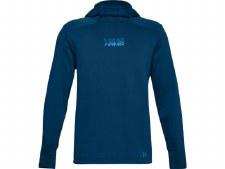 Under Armour Mens Baseline Fleece Pullover Hoody (Blue) Small