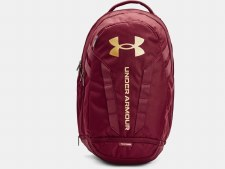 Under Armour Hustle 5.0 Backpack (Maroon Gold)