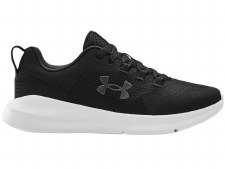 Under Armour Sportstyle Essential Shoes (Black White) 5