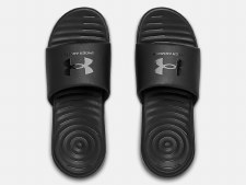 Under Armour Ansa Mens Fixed Slides (Black) 7