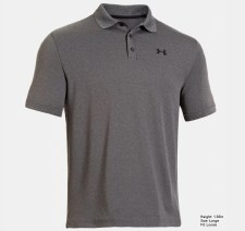 Under Armour Performance Golf Polo (Grey) Small