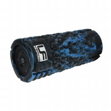 Urban Fitness Vibrating Foam Roller (Black Blue)