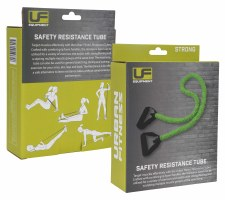 Urban Fitness Safety Resistance Tube (Green) Strong
