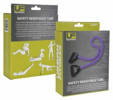 Urban Fitness Safety Resistance Tube (Purple) Light
