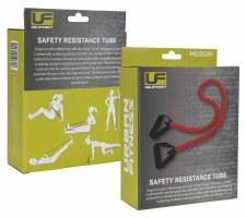 Urban Fitness Safety Resistance Tube (Red) Medium