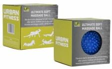 Urban Fitness Ultimate Soft Massage Ball (Blue) 8cm