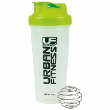 Urban Fitness  Protein Shaker 700ml (Clear Lime)