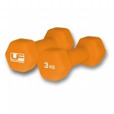 UF Hex Dumbells 3kg (Pair)