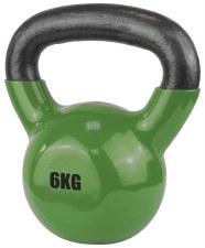 Urban Fitness Vinyl Coated Dumbell 6 Kg (Green)