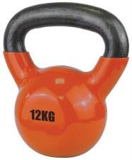 Urban Fitness Vinyl Coated Dumbell 12 Kg (Orange)