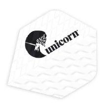 Unicorn Q.100 Plus Flights (White) 3 Pack
