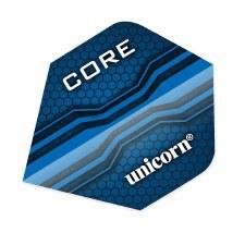 Unicorn Core .75 Plus Flights (Blue) 3 Pack