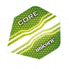 Unicorn Core .75 Plus Flights (Green) 3 Pack
